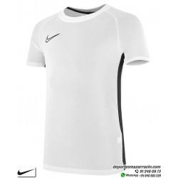 Camiseta Deporte Junior NIKE DRY FIT ACADEMY TOP Blanca Poliester