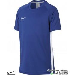 Camiseta Deporte Junior NIKE DRY FIT ACADEMY TOP Azul Poliester