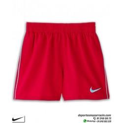 Bañador para piscina o playa de marca nike en tallas de Junior color rojo.