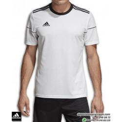 Camiseta Deporte ADIDAS SQUAD 17 JSY SS Blanco-Negro Poliester