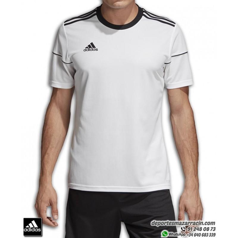 Color de malva marca una vez  Camiseta Deporte ADIDAS SQUAD 17 JSY SS Blanca Hombre