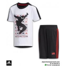 Conjunto SPIDERMAN Infantil Camiseta y Short ADIDAS