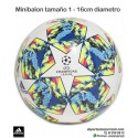 MiniBalon CHAMPIONS LEAGUE 2019-20 ADIDAS FINALE MINI