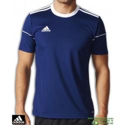 Camiseta Deporte ADIDAS SQUAD 17 JSY SS Azul Marino Poliester Hombre