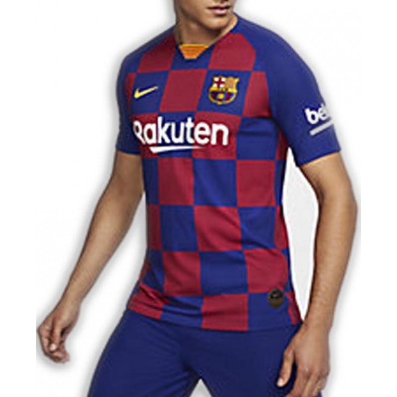 Intenso soltar Kosciuszko  Camiseta del BARCELONA temporada 2019-2020 cuadros Azulgrana Junior