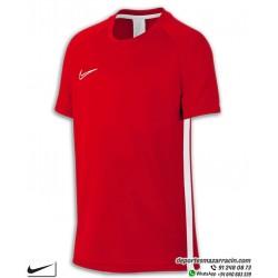 Camiseta Deporte Junior NIKE DRY FIT ACADEMY TOP Roja Poliester