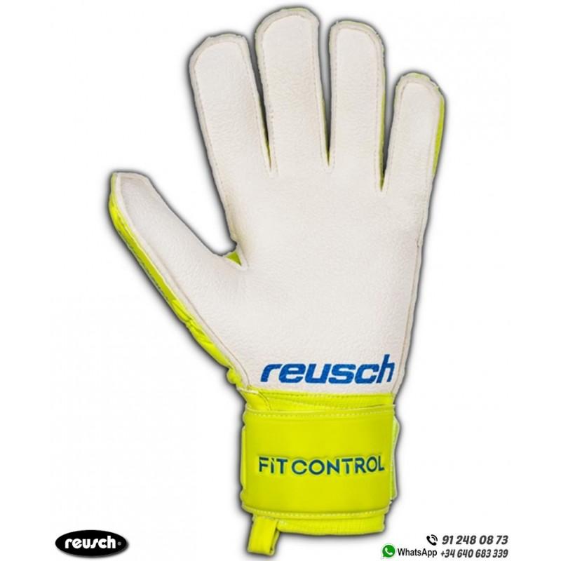 Reusch Fit Control RG Open Cuff Guantes de Portero para ni/ños