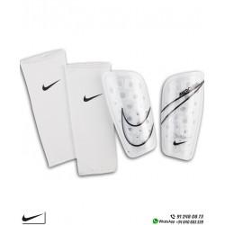 Espinillera Nike MERCURIAL LITE Blanco-Negro