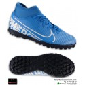 Nike MERCURIAL SUPERFLY 7 Club Azul Bota Fútbol Turf