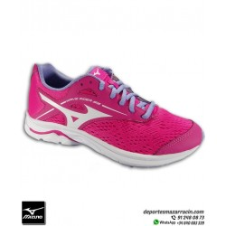 Mizuno WAVE RIDER 23 Deportiva Chica para Running color Rosa talla Junior K1GC193301