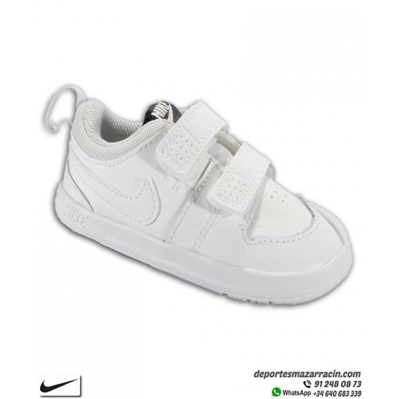 profundo tiempo Antagonista  Zapatilla Nike PICO 5 TDV para Niño Pequeño Blanca completa