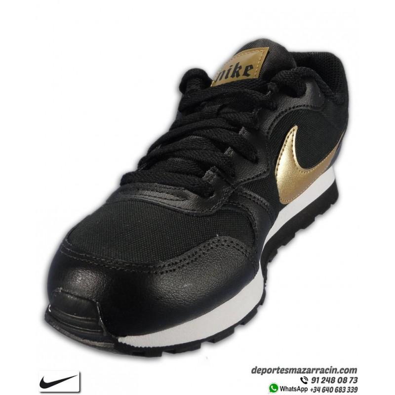 MD Runner 2 negro oro zapatilla nike chicos