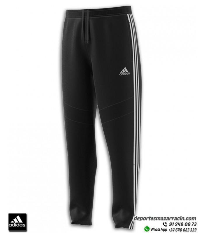 Pantalón Chandal Ajustado ADIDAS TIRO 19 PANT Junior Negro blanco