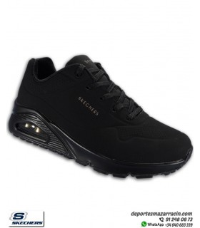 Deportiva Skechers Mujer UNO STAND ON AIR Negra