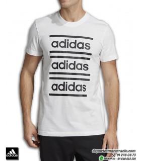 Camiseta Algodon ADIDAS M C90 BRD TEE color blanco con logotipo en negro para Hombre EI5619