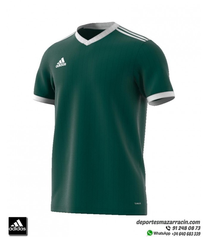 ADIDAS TABELA 18 Camiseta Fútbol Verde Oscuro
