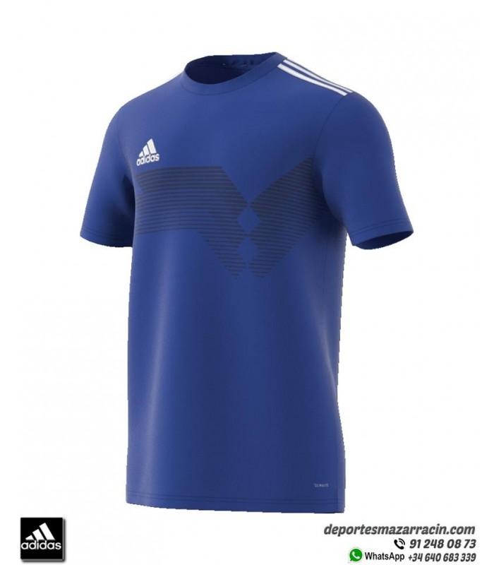 frío longitud Persona a cargo del juego deportivo  Camiseta Fútbol ADIDAS CAMPEON 19 color Azul