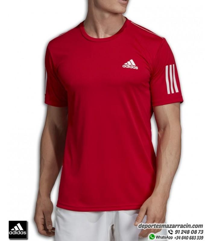 huella dactilar Prisionero masa  Camiseta ADIDAS ADIDAS CLUB 3STR TEE Rojo Climalite Hombre EJ7042