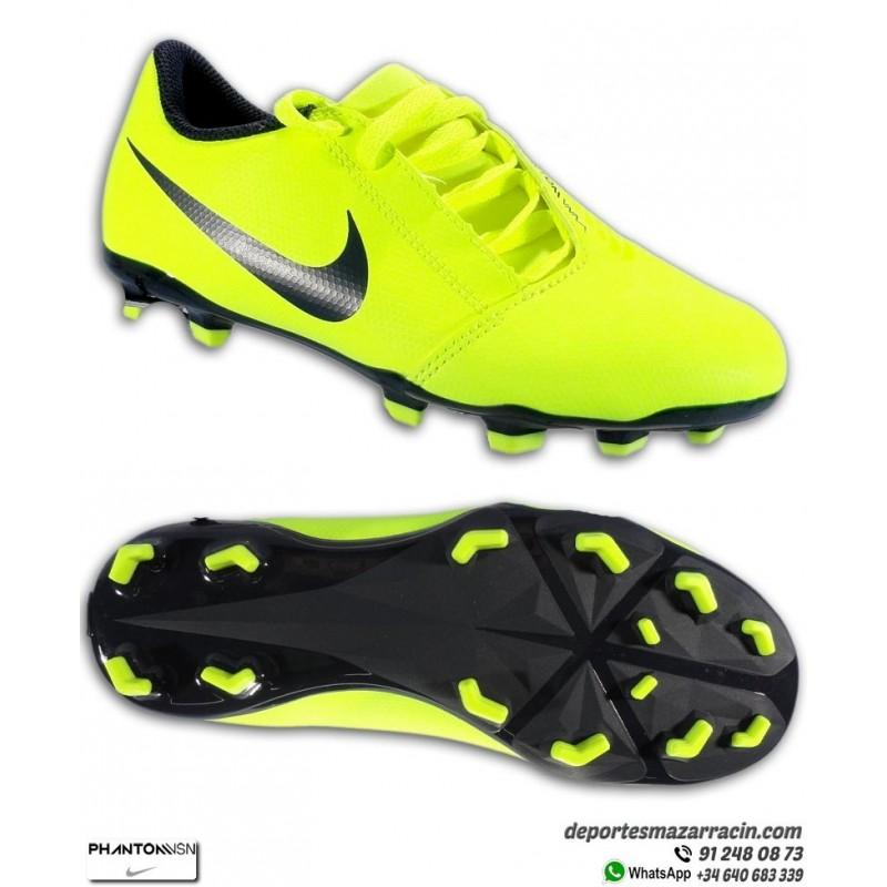 reflejar Gato de salto Tres  PHANTOM VENOM Club Amarilla Nike junior Bota Fútbol hierba artificial