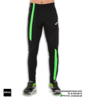 Pantalón Chandal JOMA SUPERNOVA Pants corte Ajustado color Negro-Verde 101286.117
