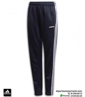 Pantalón Chandal ADIDAS YB TR 3S PNT Junior corte Ajustado color azul marino-blanco EI7935