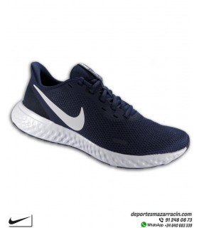 Nike REVOLUTION 5 Zapatilla Deporte Hombre Azul marino BQ3204-400
