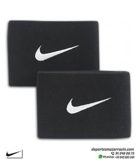 Cinta para sujeción de Medias espinilleras Nike Negro (pareja)