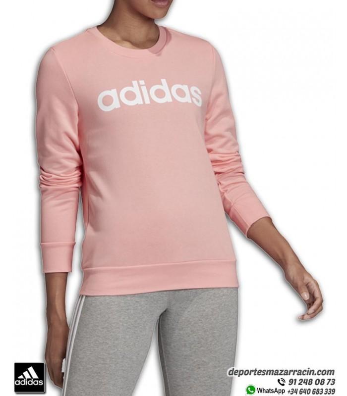 Sudadera Mujer adidas Essentials LINEAR SWEAT Rosa