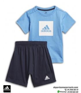 Conjunto LOGO SUMMER SET de ADIDAS para Niño bebe Camiseta Short