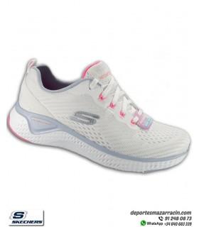 Deportiva Mujer Skechers SOLAR FUSE BRISK VIEW blanco 149051WBLP