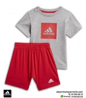 Conjunto LOGO SUMMER SET de ADIDAS para Niño bebe Camiseta y Short FM6378