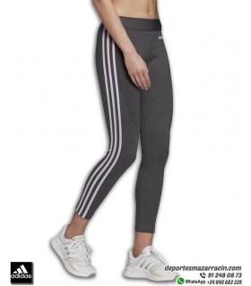 Malla Larga Mujer ADIDAS Essential 3 Stripes TIGHT Gris-Lila DU2040