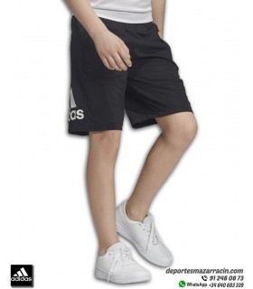 Pantalon Corto ADIDAS poliester YB TR EQ KN SHORT negro DV2918 Junior