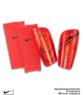Espinillera Nike MERCURIAL LITE rojo con Negro SP2120-644