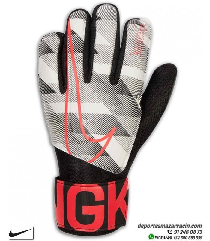 bastante baratas nueva apariencia estilo limitado Guante Portero NIKE GK MATCH Junior Negro-Rojo para niños CQ4639-100
