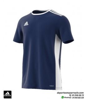 Camiseta ADIDAS ENTRADA 18 Azul Marino