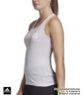 Camiseta Tirantes Mujer ADIDAS Essential Linear tank Lila FM6354