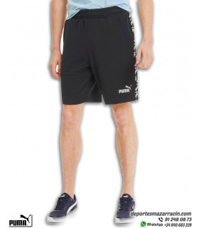 Pantalon Corto PUMA AMPLIFIED SHORTS 9 Algodon negro hombre 581416-01