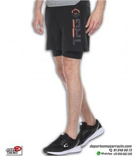 Pantalon Corto con malla interior Hombre John Smith TELEMACO Negro