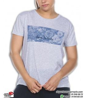 Camiseta Señora John Smith PALINU Azul Claro Vigore de algodon