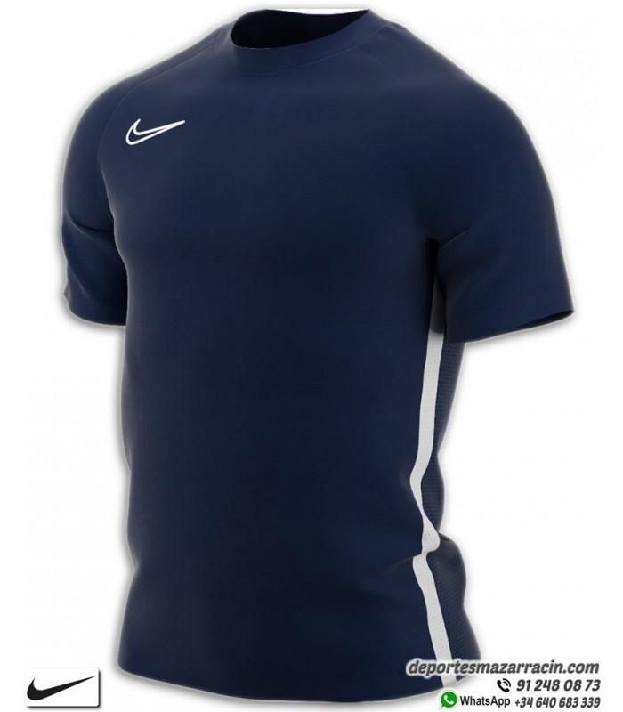 Camiseta Deporte NIKE DRY FIT ACADEMY Marino-Blanco Poliester