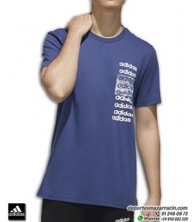 Camiseta ADIDAS para Hombre 3x3 Algodon Azul Marino FM6237