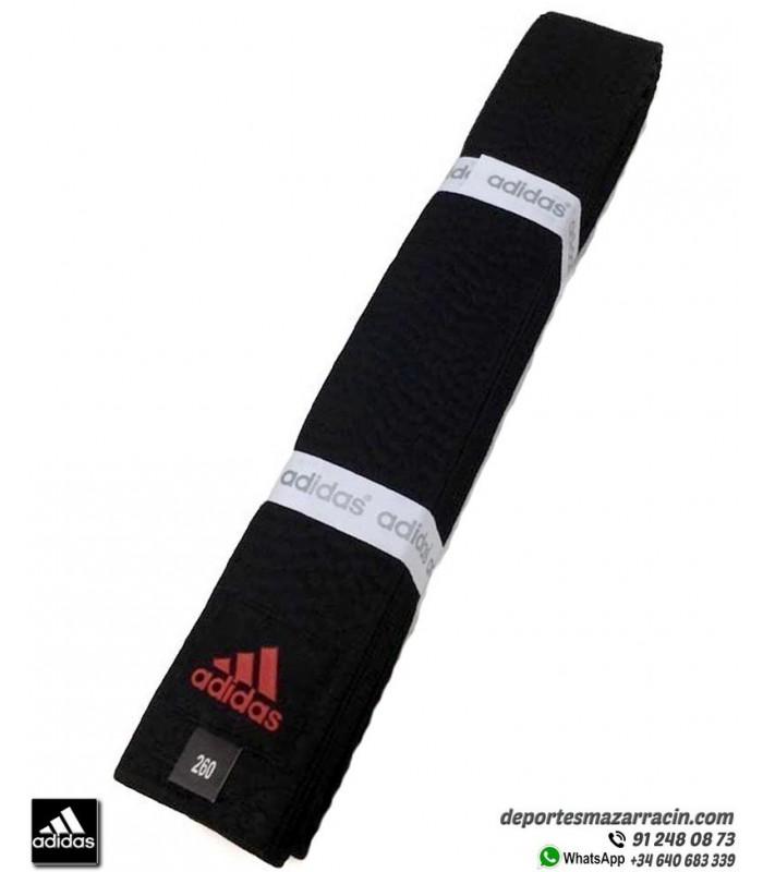 Iluminar Intervenir Premonición  Cinturón Artes Marciales adidas CHAMPION Negro Personalizable