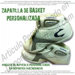 PERSONALIZAR zapatilla de BALONCESTO (Imagenes de muestra)