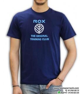 Camiseta ROX MODULATOR Algodón Azul Marino para Hombre