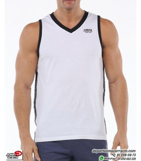 Camiseta Tirantes John Smith FRADE Blanca