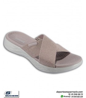 Chancla Skechers Mujer ON THE GO 600 Glistening Rosa