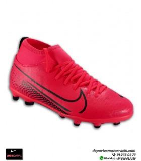 Nike MERCURIAL SUPERFLY 7 Club Niño Rojo Carmesi Bota Fútbol FG/MG