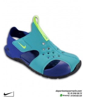 Sandalia Nike SUNRAY PROTECT 2 Niños Azul