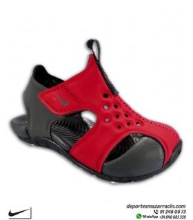 Sandalia Nike SUNRAY PROTECT 2 Infantil Rojo
